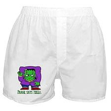Frank says hello. Boxer Shorts