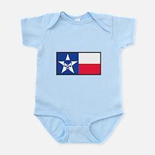 Texas Skull Flag Body Suit