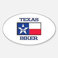 Texas Biker Decal