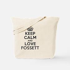 Unique Fossett Tote Bag