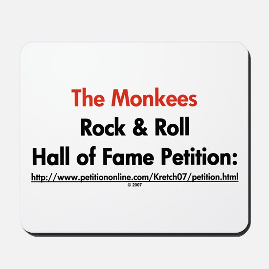 Monkees Rock & Roll Hall of F Mousepad
