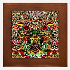 Cute Eddie Framed Tile