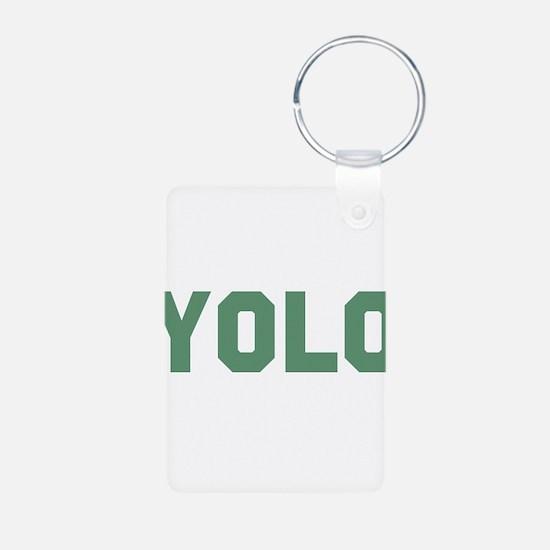 yolo Aluminum Photo Keychain