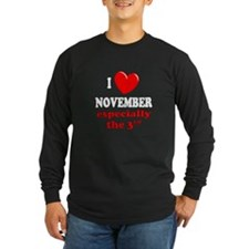 November 3rd T