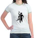 Latin Dancers Jr. Ringer T-Shirt