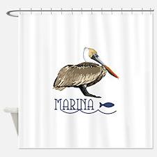 Pelican Marina Shower Curtain