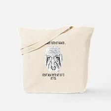 Feeling Paranoid? Tote Bag