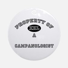 Property of a Campanologist Ornament (Round)