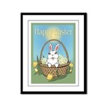 Easter Bunny Gifts Framed Panel Print