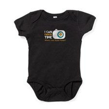 Cute Wtd i love photography Baby Bodysuit