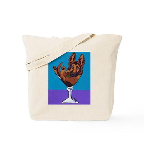 German Shepherd, Black & Tan Tote Bag