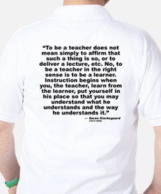 Kierkegaard Teacher T-Shirt