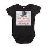 Baby girl computer Bodysuits