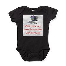 Cool Geek baby Baby Bodysuit