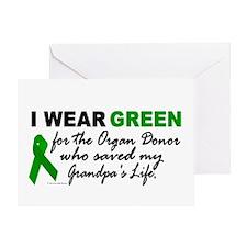 I Wear Green 2 (Saved My Grandpa's Life) Greeting