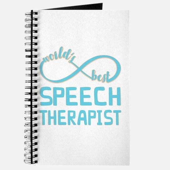 Worlds Best Speech Therapist Journal