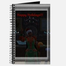 """Happy Holidays"" Journal"