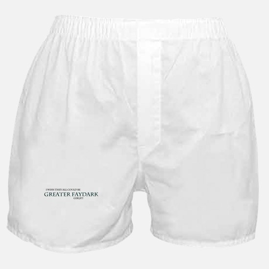GFay Girls Boxer Shorts