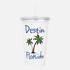 Destin Florida Acrylic Double-wall Tumbler
