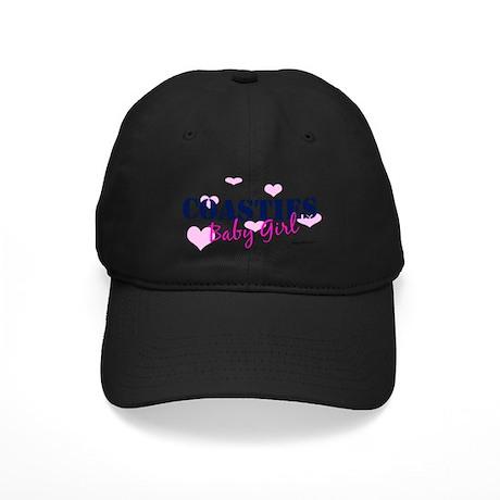 Coastie's Baby Girl - Pink/Bl Black Cap