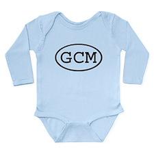 Cute Initial Long Sleeve Infant Bodysuit