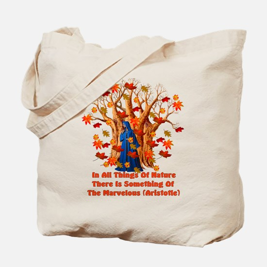 Autumn Pagan Goddess Tote Bag