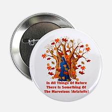 Autumn Pagan Goddess Button