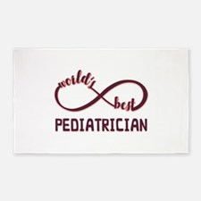 Worlds Best Pediatrician Area Rug