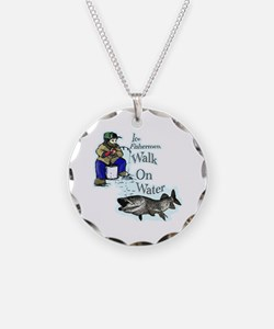 Ice fishing muskie Necklace