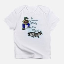 Ice fishing muskie Infant T-Shirt