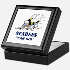 Seabees Can Do Keepsake Box