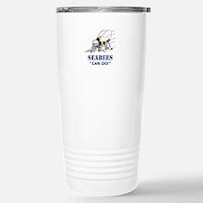 Seabees Can Do Travel Mug