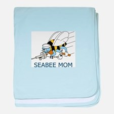 Seabee Mom baby blanket