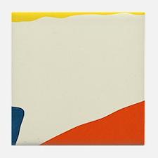 Cute Mid century modern Tile Coaster