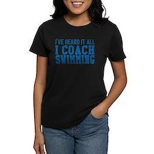 Swim coach Tee