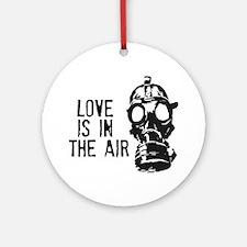 No Falling In Love Round Ornament