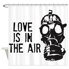No Falling In Love Shower Curtain