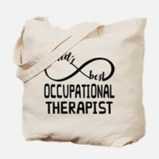 Worlds Best Occupational Therapist Tote Bag