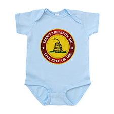 Cute Dont tread me Infant Bodysuit