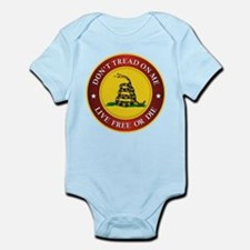 Unique Gadsden flag Infant Bodysuit