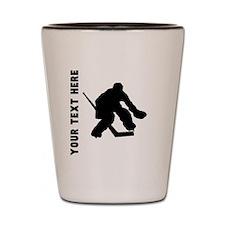 Hockey Goalie (Custom) Shot Glass