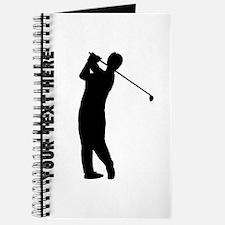 Golfer (Custom) Journal