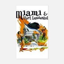 Miami & Fort Lauderdale Florida Decal