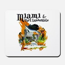 Miami & Fort Lauderdale Florida Mousepad