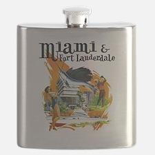 Miami & Fort Lauderdale Florida Flask