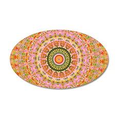 Happy Hippy Mandala Wall Sticker