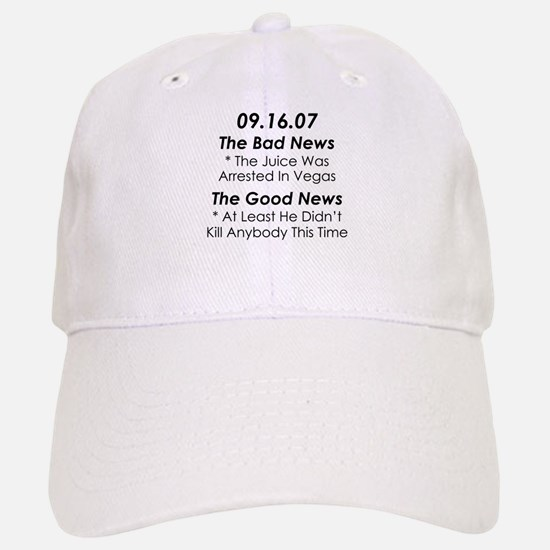 In The News AGAIN Baseball Baseball Cap