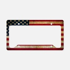 Cute Hollywood License Plate Holder