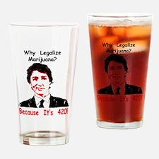 Unique Hemp Drinking Glass