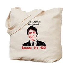 Cool Justin Tote Bag